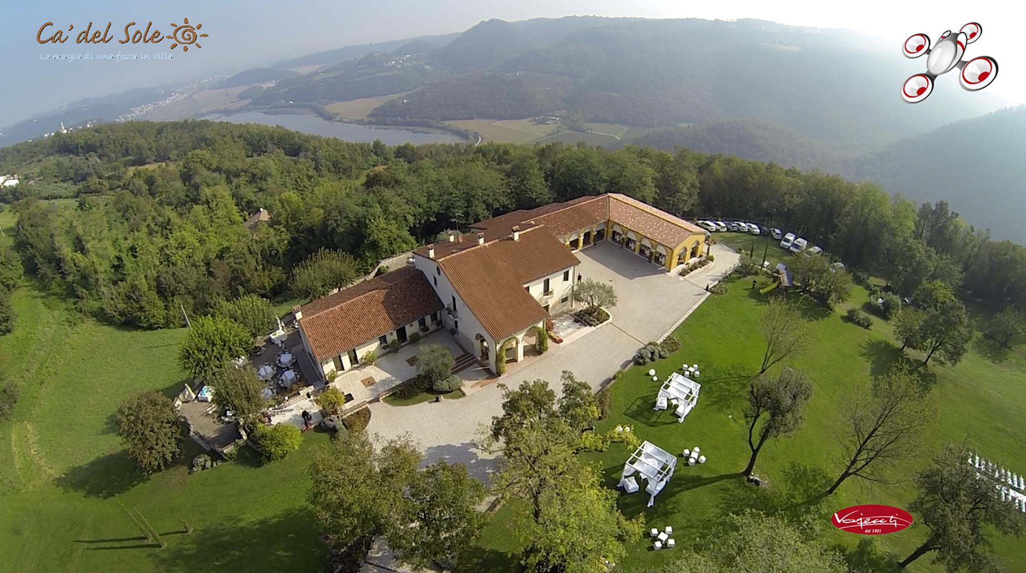 Fotografia con drone per Hotel e Alberghi vajenti vicenza