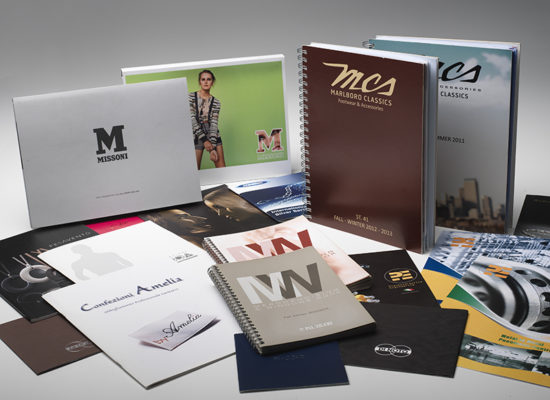 Cataloghi e brochure gruppo
