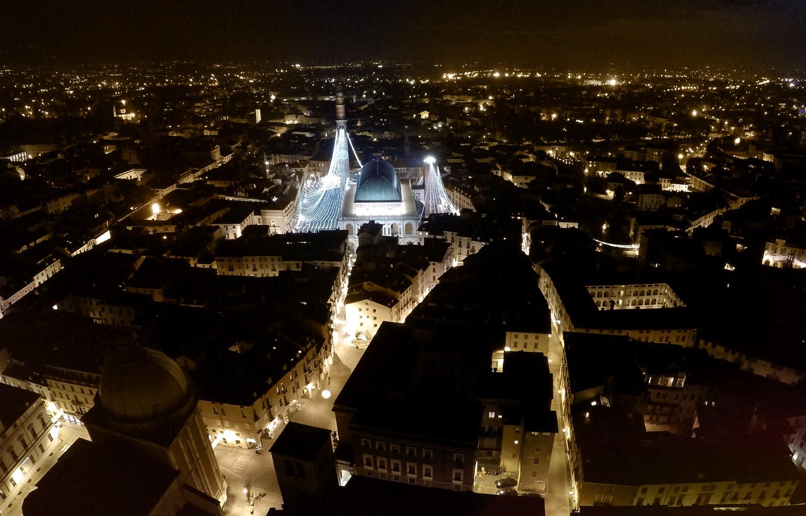 foto Basilica palladiana con drone vicenza vajenti 06