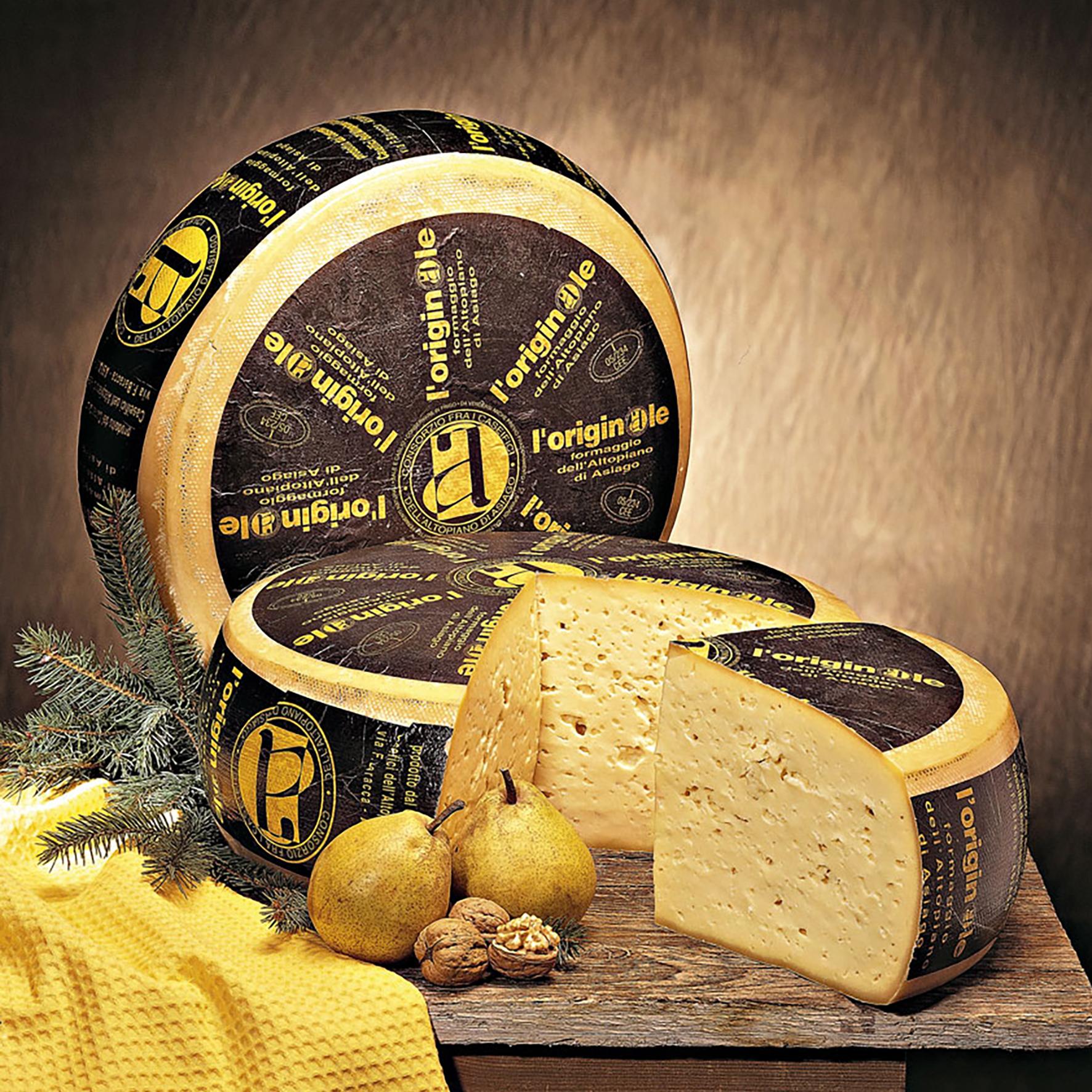 formaggio asiago originale