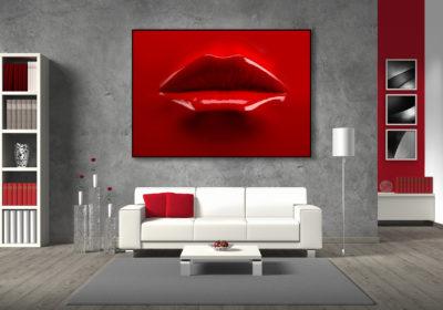 ambiente quadro tela bocca rossa 1800x1200